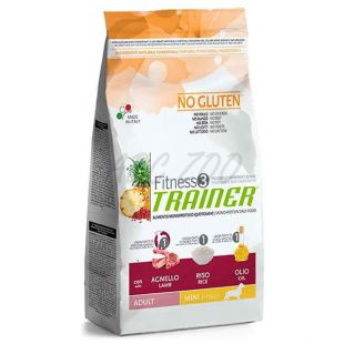 Trainer Fitness3 Adult MINI jahňa s ryžou - 7,5 kg