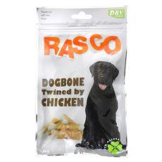 Pamlsky RASCO - kosti obalené kuracím mäsom, 80 g