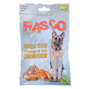 Pamlsky RASCO - prúžky syru obalené kuracím mäsom, 80 g