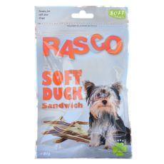 Pamlsky RASCO - sendvič z kačacieho mäsa, 80 g