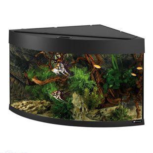 Akvárium Ferplast DUBAI CORNER 90 ČIERNE - 180L