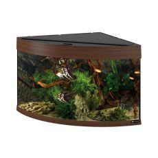 Akvárium Ferplast DUBAI CORNER 90 ORECH - 180L