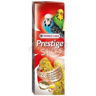 Tyčinky pre andulky PRESTIGE STICKS 2 ks - ustrice a vajce