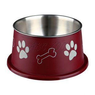 Miska pre psy s dlhými ušami, hnedá - 0,9 L