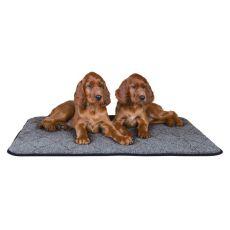 Termo podložka pre psa, sivá - 90x70cm