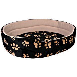 Pelech Charly pre psov a mačky, čierno-béžový - 50x43cm
