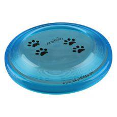 Lietajúci tanier pre psov, plastový - 19cm