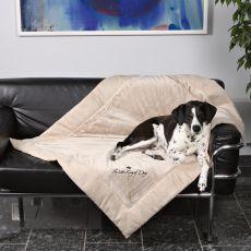 Deka pre psa King of Dogs, obojstranná - 100x70cm