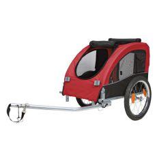 Vozík pre psa za bicykel s kovovým rámom - 45x48x74cm