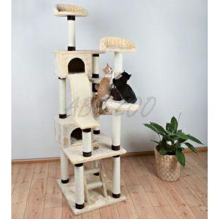 Škrabadlo pre mačky Adiva, poschodové - 209cm