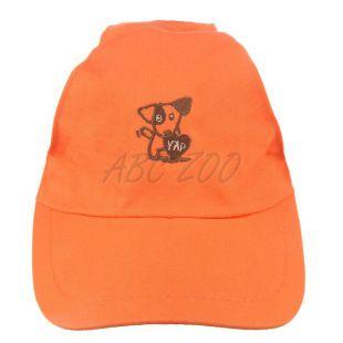 Čiapka pre psa YAP Dog, oranžová - 15 cm