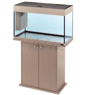 Akvárium Ferplast DUBAI 80 SIVE - 125L + skrinka