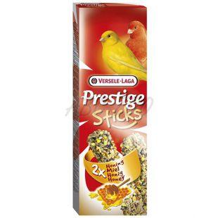 Tyčinky pre kanáriky Prestige Sticks 2ks - med, 60g