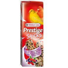 Tyčinky pre kanáriky Prestige Sticks 2ks - lesné plody, 60g