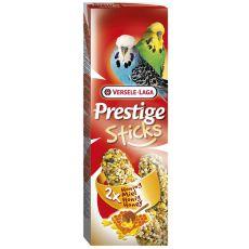 Tyčinky pre andulky Prestige Sticks 2ks - med, 60g