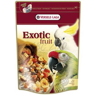 Krmivo pre papagáje Exotic Fruit - exotické ovocie, 600g