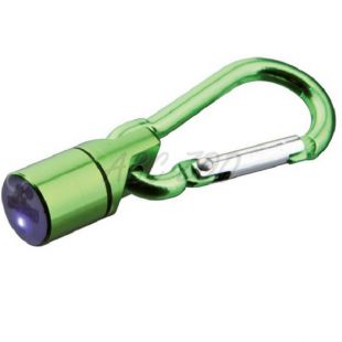 Blikač na obojok pre psa a mačku - zelený, na baterky, 1 cm