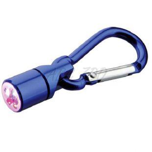Flesher na obojok pre psa a mačku - modrý, na baterky, 1 cm