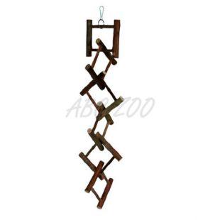 Hračka rebrík závesný, drevo - 12 priečok, 58 cm