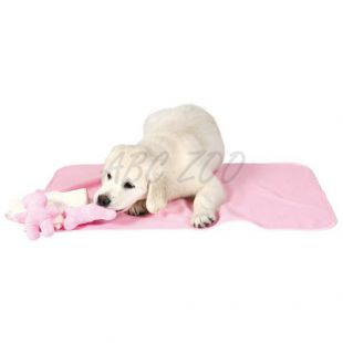 Set pre šteniatka PUPPY SET v ružovej farbe