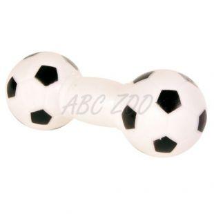 Hračka pre psa - futbalová činka, 14cm