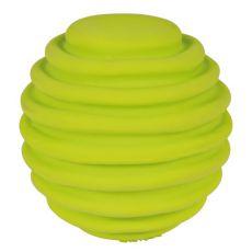Hračka pre psa z latexu - vrúbkovaná lopta, 6cm