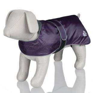 Kabátik pre psa s reflexnými prvkami, fialový - M / 45-65cm