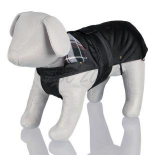 Kabát pre psa s flanelovým golierom - M / 50-70cm