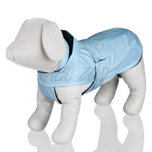 Bundička s kapucňou pre psa, modrá - S / 26-50cm