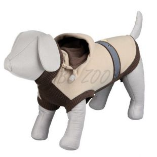 Mikina pre psa s kapucňou - S / 42cm