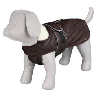 Kabát pre psa s golierom a reflexnými prvkami XS / 30-40cm