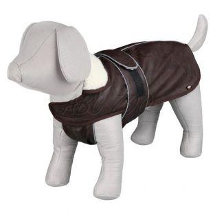 Kabát pre psa s golierom a reflexnými prvkami S / 42-55cm