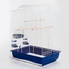 Klietka pre papagája EMMA CABRIO biela - 54 x 39 x 73cm