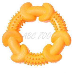 Hračka pre psa - kruh s výstupkami, 12cm