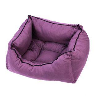 Pelech pre psa vo fialovej farbe - L / 55x45x22cm