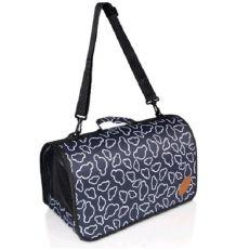 Prepravná taška ZANZIBAR L, čierna - 46x24x24,5cm