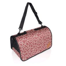 Prepravná taška ZANZIBAR L, hnedá- 46x24x24,5cm
