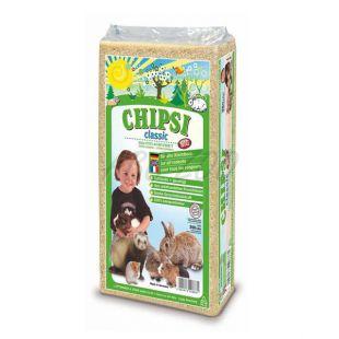 CHIPSI CLASSIC - hoblinová podstielka pre hlodavce 15L