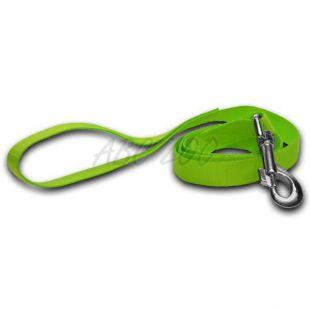 Vodítko pre psa - neon zelené, 1,6 x 120 cm