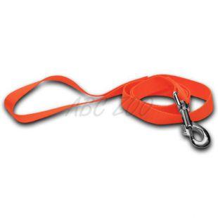 Vodítko pre psa - neon oranžové, 2 x 120 cm