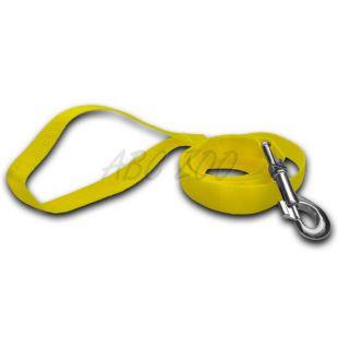 Vodítko pre psa - neon žlté, 1,6 x 120 cm