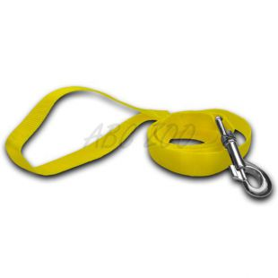 Vodítko pre psa - neon žlté, 2 x 120 cm