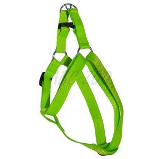 Postroj pre psa neon zelený, 1,6 x 30-45cm