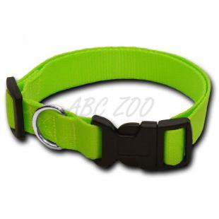 Obojok pre psa neon zelený - 1,6 x 25-39 cm