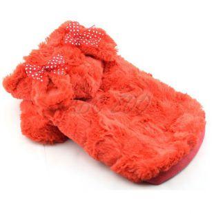 Mikina pre psov s kapucňou a uškami, oranžová - S