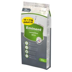 EMINENT Lamb a Rice - 15kg + 3kg GRATIS