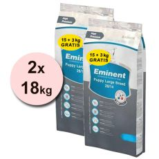 EMINENT Puppy Large Breed - 2x18kg
