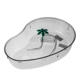 Terárium pre korytnačky s palmou - priesvitné
