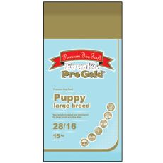 Frank´s Pro Gold Puppy Large Breed 28/16 - 15kg