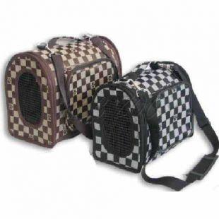 Prenosný kufrík pre psa alebo mačku - čierny, 29cm